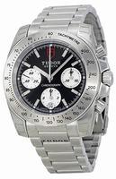 Tudor Chronograph Mens Wristwatch 20300-BKSSS
