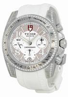 Tudor Chronograph Ladies Wristwatch 20310-WBASWRS
