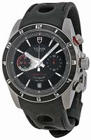 Tudor Grantour Fly-Back Chronograph Mens Wristwatch 20550N-BKLPL