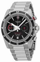 Tudor Grantour Fly-Back Chronograph Mens Wristwatch 20550N-BKSS