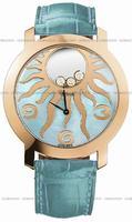 Chopard Happy Sun Watch Ladies Wristwatch 207469-5001-BLU