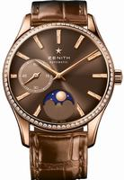 Zenith Heritage Ultra Thin Moonphase Ladies Wristwatch 22.2310.692-75.C709