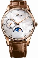 Zenith Heritage Ultra Thin Moonphase Ladies Wristwatch 22.2310.692-81.C709