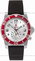 Swiss Army Maverick II Dual Time Mens Wristwatch 241177