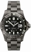 Swiss Army Dive Master 500 Black Ice Mens Wristwatch 241264