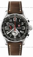 Swiss Army Chrono Classic XLS Alarm Mens Wristwatch 241279