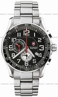 Swiss Army Chrono Classic XLS Alarm Mens Wristwatch 241280