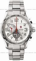 Swiss Army Chrono Classic XLS Alarm Mens Wristwatch 241282