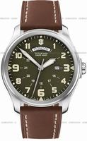 Swiss Army Infantry Vintage Day-Date Mens Wristwatch 241290