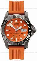 Swiss Army Dive Master 500 Black Ice Mecha Mens Wristwatch 241354