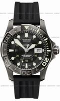 Swiss Army Dive Master 500 Black Ice Mecha Mens Wristwatch 241355