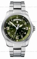 Swiss Army Infantry Vintage Day and Date Mecha Mens Wristwatch 241374