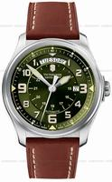 Swiss Army Infantry Vintage Day and Date Mecha Mens Wristwatch 241396
