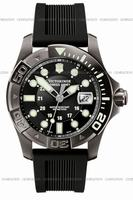 Swiss Army Dive Master 500 Black Ice Mens Wristwatch 241426