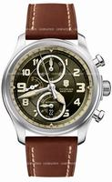 Swiss Army Infantry Vintage Chrono Mechanical Mens Wristwatch 241448