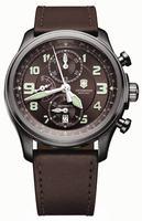 Swiss Army Infantry Vintage Chrono Mechanical Mens Wristwatch 241520