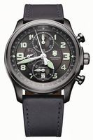 Swiss Army Infantry Vintage Chrono Mechanical Mens Wristwatch 241526