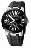 Ulysse Nardin Executive Dual Time Mens Wristwatch 243-00-3-42