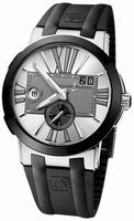 Ulysse Nardin Executive Dual Time 43mm Mens Wristwatch 243-00-3/421
