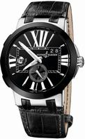 Ulysse Nardin Executive Dual Time Mens Wristwatch 243-00-42