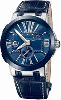 Ulysse Nardin Executive Dual Time Mens Wristwatch 243-00-43