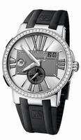 Ulysse Nardin Executive Dual Time Mens Wristwatch 243-00B-3/421