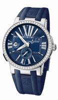 Ulysse Nardin Executive Dual Time Mens Wristwatch 243-00B-3/43