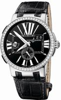 Ulysse Nardin Executive Dual Time Mens Wristwatch 243-00B-42