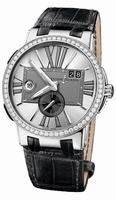 Ulysse Nardin Executive Dual Time Mens Wristwatch 243-00B/421