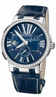 Ulysse Nardin Executive Dual Time Mens Wristwatch 243-00B/43