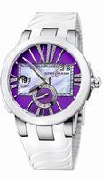 Ulysse Nardin Executive Dual Time Ladies Ladies Wristwatch 243-10-3-30-07
