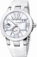 Ulysse Nardin Executive Dual Time Ladies Ladies Wristwatch 243-10-3-391