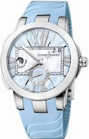 Ulysse Nardin Executive Dual Time Ladies Ladies Wristwatch 243-10-3-393