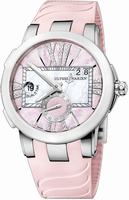 Ulysse Nardin Executive Dual Time Ladies Ladies Wristwatch 243-10-3-397