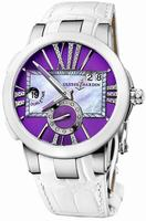 Ulysse Nardin Executive Dual Time Ladies Ladies Wristwatch 243-10-30-07