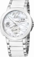 Ulysse Nardin Executive Dual Time Ladies Ladies Wristwatch 243-10-7-691