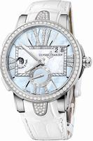 Ulysse Nardin Executive Dual Time Ladies Ladies Wristwatch 243-10B-393