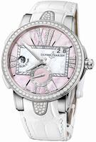 Ulysse Nardin Executive Dual Time Ladies Ladies Wristwatch 243-10B-397