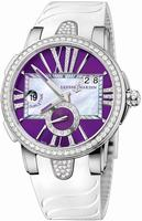 Ulysse Nardin Executive Dual Time Ladies Ladies Wristwatch 243-10B-3C-30-07