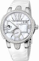 Ulysse Nardin Executive Dual Time Ladies Ladies Wristwatch 243-10B-3C-391