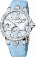 Ulysse Nardin Executive Dual Time Ladies Ladies Wristwatch 243-10B-3C-393