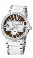 Ulysse Nardin Executive Lady Ladies Wristwatch 243-10B-7/30-05