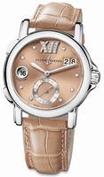 Ulysse Nardin GMT Big Date 37mm Ladies Wristwatch 243-22/30-09