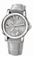 Ulysse Nardin Dual Time Lady Ladies Wristwatch 243-22/30-02