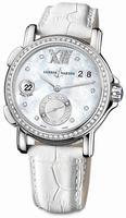 Ulysse Nardin GMT Big Date 37mm Ladies Wristwatch 243-22B/391