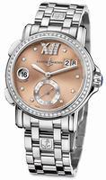 Ulysse Nardin GMT Big Date 37mm Ladies Wristwatch 243-22B-7/30-09
