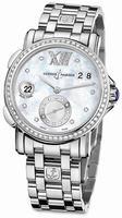 Ulysse Nardin GMT Big Date 37mm Ladies Wristwatch 243-22B-7/391