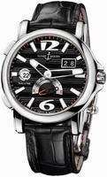Ulysse Nardin Dual Time 42 mm Mens Wristwatch 243-55-62
