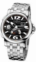 Ulysse Nardin Dual Time Mens Wristwatch 243-55-7/62