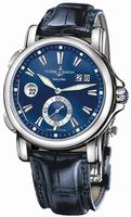 Ulysse Nardin Dual Time 42 mm Mens Wristwatch 243-55-93